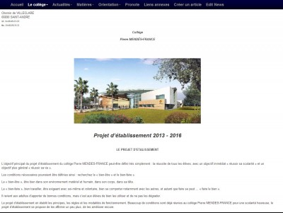 Exemple d'article